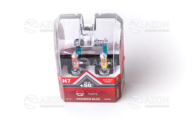 Лампа автомобильная H7 12V 55W PХ26D RAINBOW BLUE (ближняя дальняя ... 22c99e07d8f35